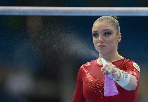 علياء مصطافينا تتوج بالذهبية الثانية في بطولة أوروبا للجمباز