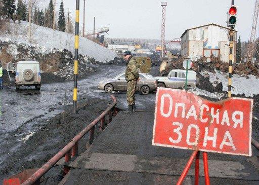 نجاة 13 شخصا محاصرا جراء انهيار التربة بمنجم في جنوب شرق روسيا