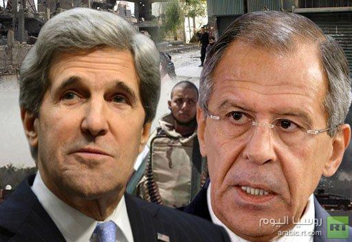 لافروف: توريد الأسلحة الى سورية يخالف الالتزامات الدولية للاتحاد الأوروبي