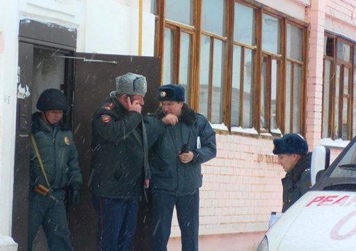 اصابة شخصين بحروق نتيجة انفجار مادة كيميائية وسط موسكو