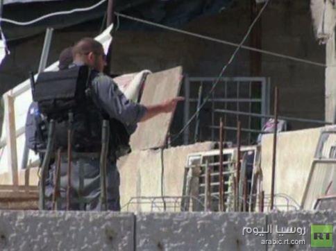 الجرافات الاسرائيلية تهدم منازل فلسطينيين في القدس