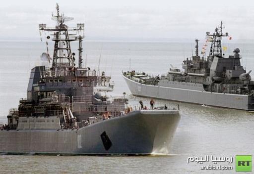 استبدال الورشة البحرية الروسية العائمة المرابطة قرب ميناء طرطوس باخرى