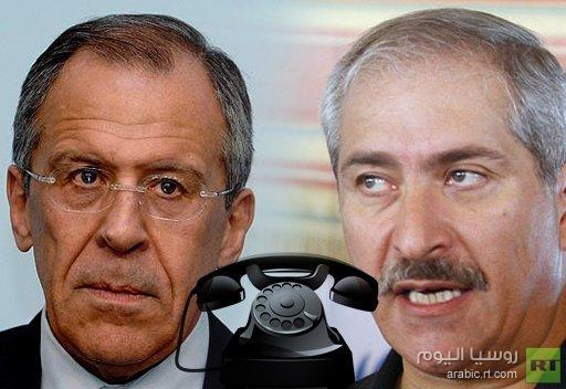 لافروف وجودة: الوضع في سورية يتطلب تنشيط الجهود الدولية