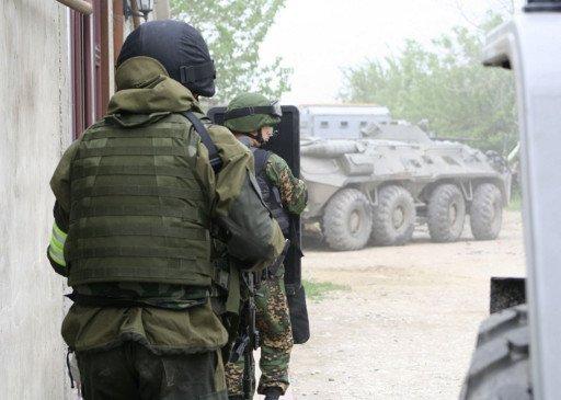 بالفيديو: تصفية مسلحين اثنين في عملية خاصة بداغستان