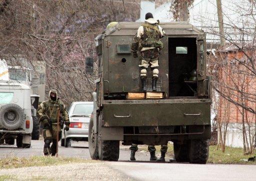 مقتل مسلح في حادث تبادل إطلاق نار في جنوب روسيا