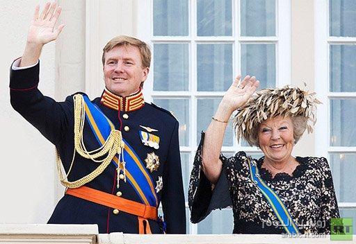 وليام الكسندر ملكا جديدا لهولندا