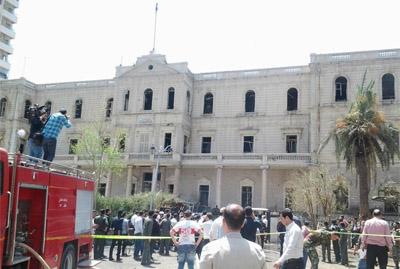 ارتفاع عدد ضحايا تفجير المرجة وسط دمشق إلى 15 قتيلا وعشرات الجرحى