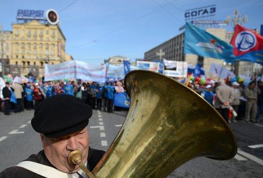 روسيا تحتفل اليوم بعيد الأول من مايو