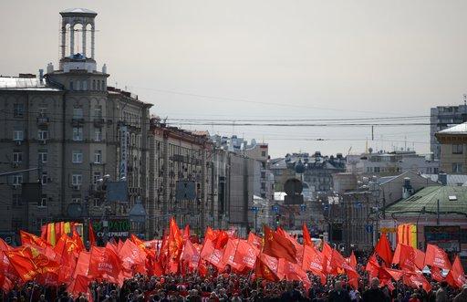 أكثر من مليوني شخص يشاركون في مسيرات بمناسبة عيد الربيع والعمل في روسيا
