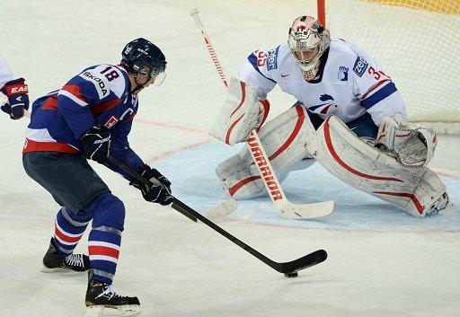 سلوفاكيا تكتسح فرنسا في افتتاح بطولة العالم للهوكي