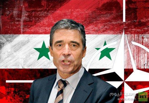 راسموسين: الناتو لن يتدخل في الازمة السورية ولكنه مستعد للدفاع عن تركيا