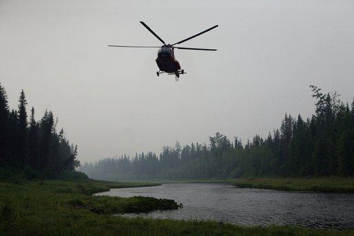 الغموض يسود مصير 9 اشخاص بعد سقوط مروحيتهم في سيبيريا
