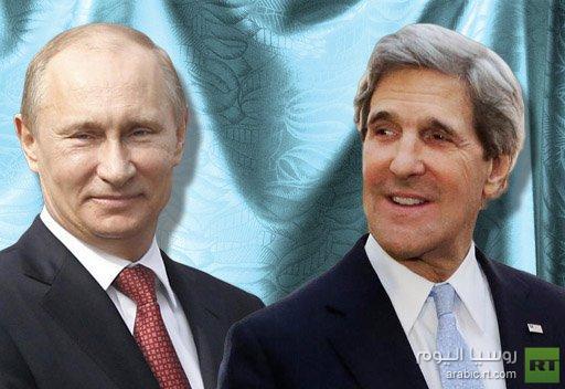 بوتين يستقبل كيري في الكرملين