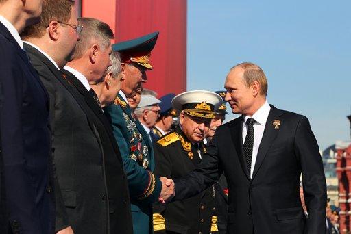 بوتين: سنعمل كل ما في وسعنا من أجل تعزيز الامن والسلام على الارض