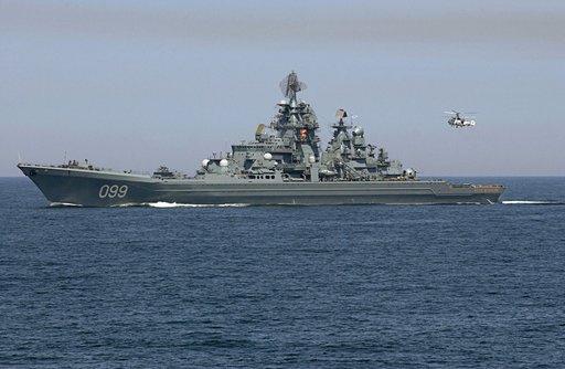 روسيا تشرع في تشكيل قوة عسكرية بحرية دائمة في البحر المتوسط
