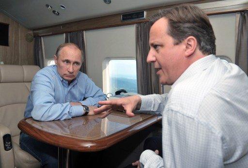 كاميرون يصف محادثاته مع بوتين بأنها
