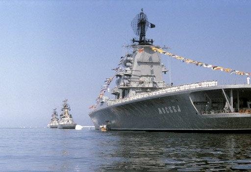 السفن الحربية الروسية تقوم برحلة بحرية طويلة إلى المحيط الأطلسي