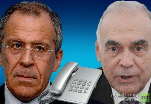 وزيرا الخارجية الروسي والمصري يشددان على أهمية الوقف الفوري لإراقة الدماء في سورية
