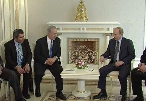 بوتين ينوي مناقشة الوضع في سورية مع نتانياهو