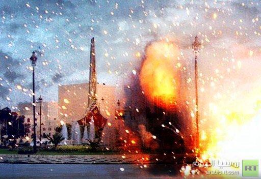 مراسلنا : مقتل شخص على الأقل في انفجار سيارة مفخخة بالقرب من ساحة الأمويين في دمشق