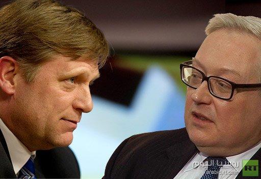 الخارجية الروسية تحتج على النشاط التجسسي لدبلوماسي في السفارة الأمريكية في موسكو