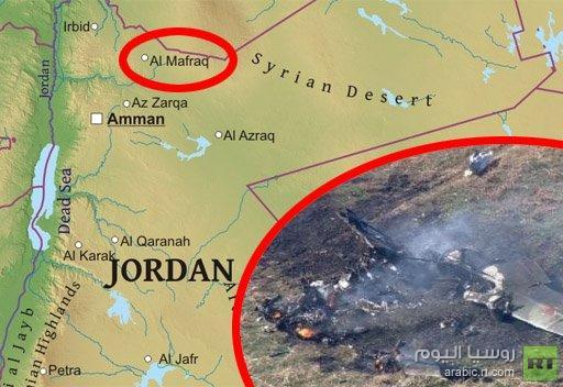 مراسلنا: تحطم طائرة تدريب عسكرية أردنية في محافظة المفرق ومقتل طاقمها