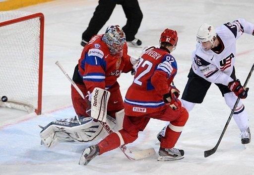 أمريكا تكتسح روسيا وتبلغ نصف نهائي مونديال الهوكي