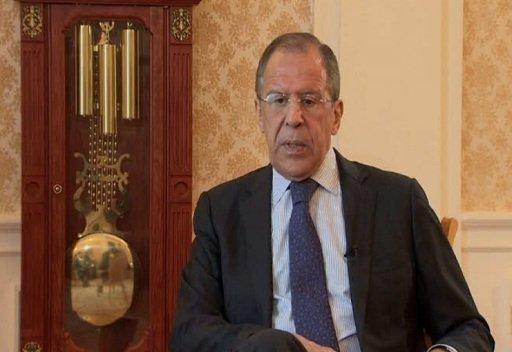 لافروف :مصالح الشعب السوري تتطلب الوقف الفوري للعنف بدون اية شروط مسبقة