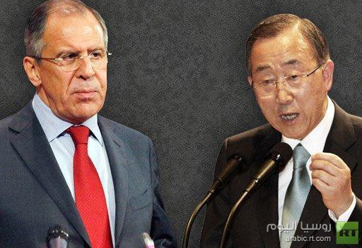 لافروف: المشاكل في العالم لا تتناقص ويجب على الأمم المتحدة ممارسة دور محوري في حلها