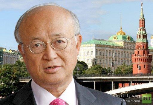 مدير الديوان الرئاسي الروسي يبحث مع مديرعام الوكالة الدولية للطاقة الذرية مشاريع تعاون