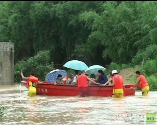 مصرع 33 شخصا نتيجة العواصف في الصين