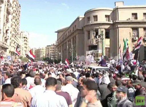 مظاهرات في القاهرة ضد حكم الإخوان