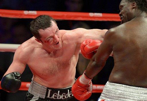 الملاكم الروسي ليبيديف يتعرض إلى هزيمة دراماتيكية