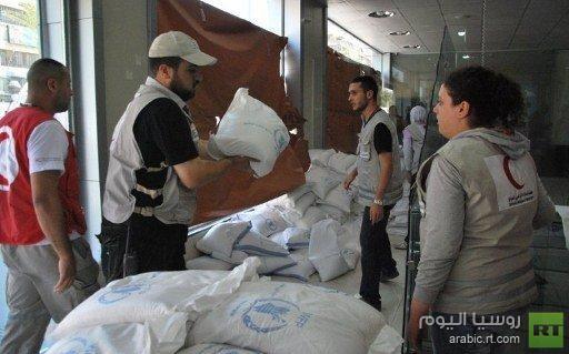 مجلس الأمن يدرس طلبا للسماح بحرية وصول المساعدات الإنسانية إلى سورية