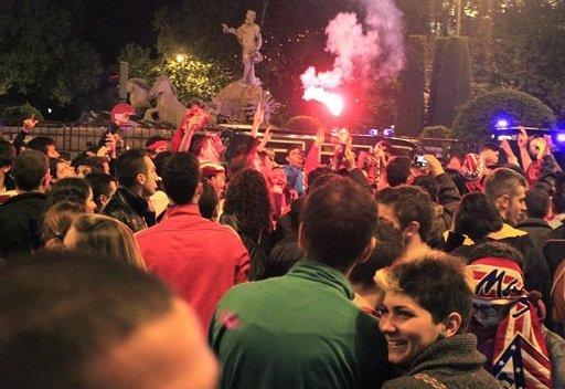 نهائي مدريد .. إعتقال 11 شخصاً وجرح 18