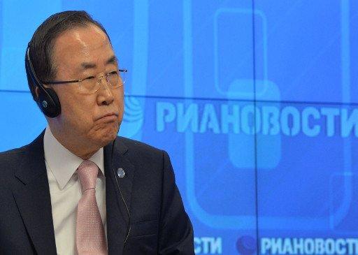 بان كي مون على ثقة بأن المؤتمر الخاص بالتسوية السورية سيعقد في مطلع يونيو