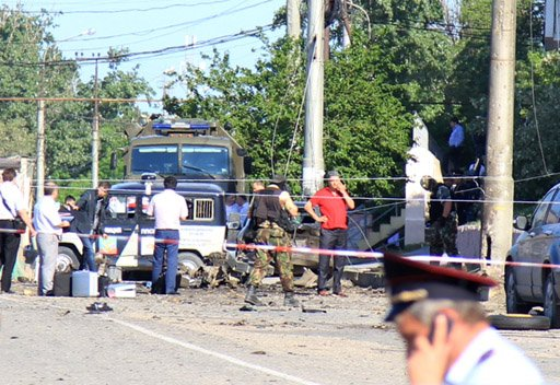 مقتل 4 اشخاص واصابة العشرات في تفجيرين بداغستان جنوب روسيا