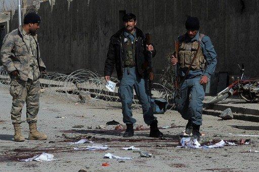 مقتل 6 عناصر شرطة أفغان بانفجار عبوة ناسفة غرب البلاد