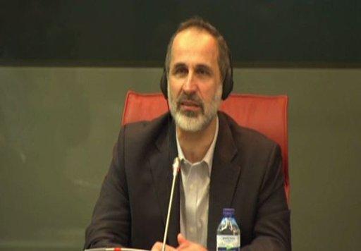 الخطيب: لا بديل عن رحيل الأسد وتركه السلطة في سورية