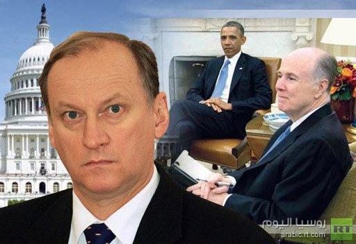 سكرتير مجلس الامن القومي الروسي يسلم أوباما رسالة من بوتين