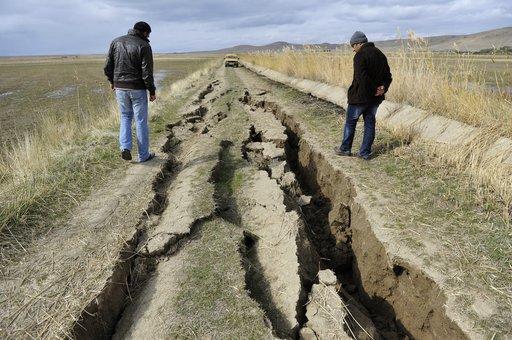زلزال قوته ست درجات يهز أوزبكستان