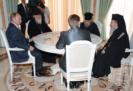 بطريرك الكنيسة الأرثوذكسية في القدس يشيد بدور روسيا في الشرق الأوسط