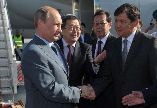 بوتين يصل إلى بشكيك للمشاركة في قمة منظمة معاهدة الأمن الجماعي