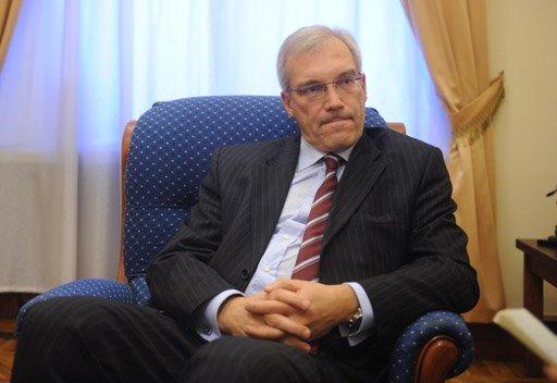 مندوب روسيا لدى الناتو: موسكو تأمل في ألا يصدر الغرب أسلحة إلى سورية