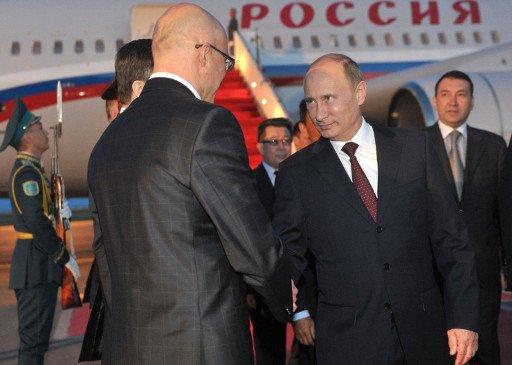 بوتين يشارك في اجتماع المجلس الاقتصادي الاوراسي الاعلى في كازاخستان
