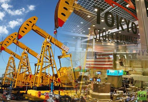 الأسهم اليابانية تهوي بعد تراجع نظيرتها الأمريكية وعقود النفط تهبط بنحو 2%