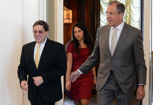 لافروف: روسيا تدعو إلى إلغاء الحصار المفروض على كوبا