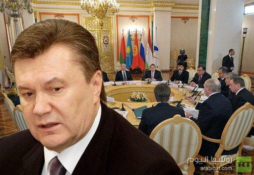 مستشار يانوكوفيتش: شروط العضوية في الاتحاد الجمركي لا ترضي أوكرانيا