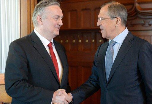 لافروف: البوسنة والهرسك شريك هام لروسيا في البلقان