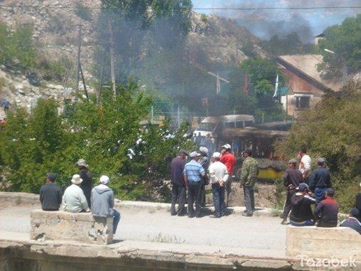 فرض حالة الطوارئ في منطقة قرغيزية اجتاحتها اضطرابات وأفعال شغب